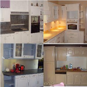 relooking cuisine ancienne beautiful etapes de relooking. Black Bedroom Furniture Sets. Home Design Ideas