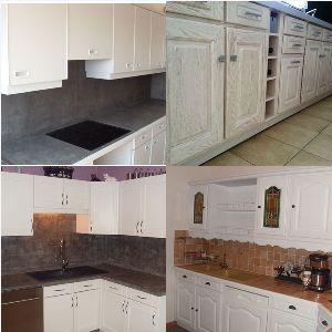renovation cuisine rustique compiegne. Black Bedroom Furniture Sets. Home Design Ideas